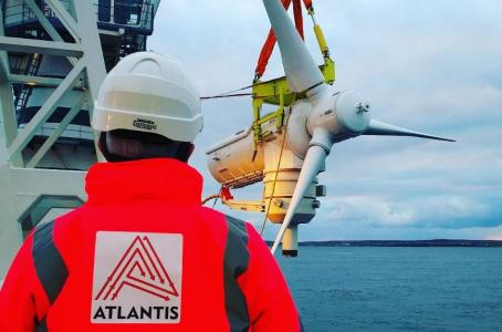Tidal Stream Array Enters Operations Phase